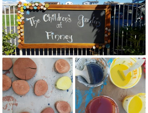 Finney Child Development's New Children's Garden!