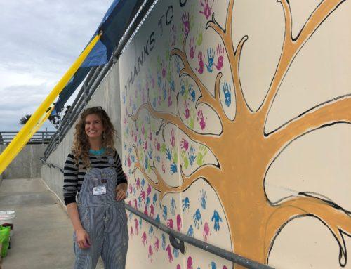 Loma Portal: Giving Tree Mural