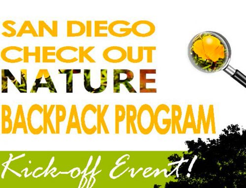 San Diego Check Out Nature Backpack Program: October 27, 2018