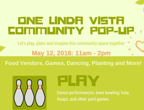 One Linda Vista Community Pop-up: May 12, 2018