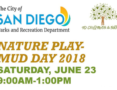 Nature Play Mud Day 2018: June 23, 2018