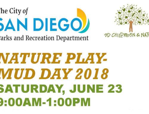 Nature Play Mud Day 2018: June 23, 2018
